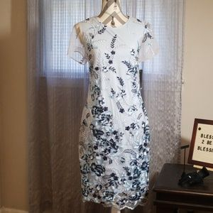 Donna Ricco dress size 12 w/accessories